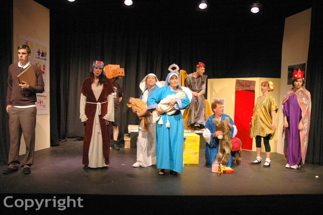 The Flint Street Nativity 2014